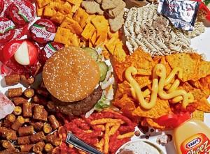 bewerkt-voedsel